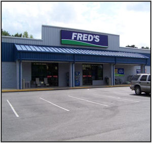 Fred's Store in Albany Ga