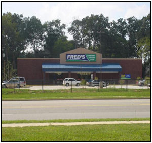 Fred's Store in Macon Ga
