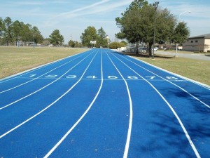 Moody Air Force Base Running Track